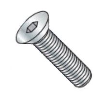 Picture of 0604CSFLBLK , Coarse Thread Flat Socket Cap Screw Plain