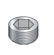 Picture of 01000PPS , Socket Pipe Plug Plain